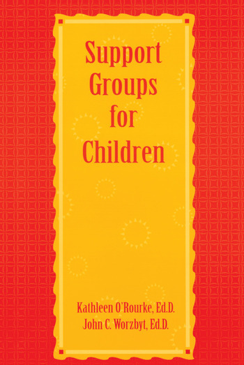 Support Groups For Children book cover
