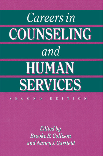 Careers In Counseling And Human Services book cover