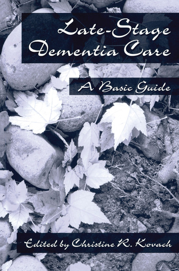 End-Stage Dementia Care A Basic Guide book cover