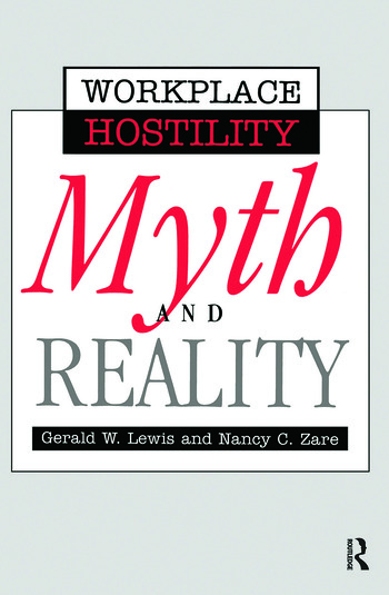 Violence In The Workplace Myth & Reality book cover