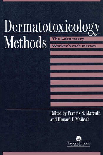 Dermatotoxicology Methods The Laboratory Worker's Ready Reference book cover