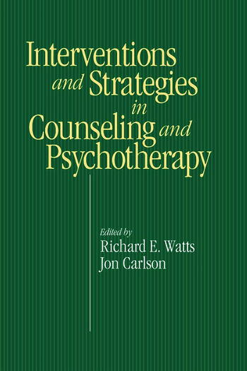 Intervention & Strategies in Counseling and Psychotherapy book cover