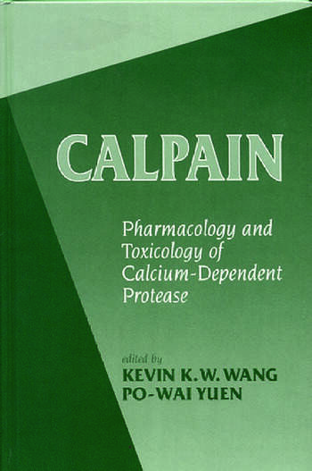 Calpains Pharmacology and Toxicology of a Cellular Protease book cover