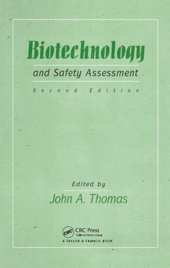 Biotechnology And Safety Assessment book cover