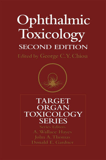 Ophthalmic Toxicology book cover