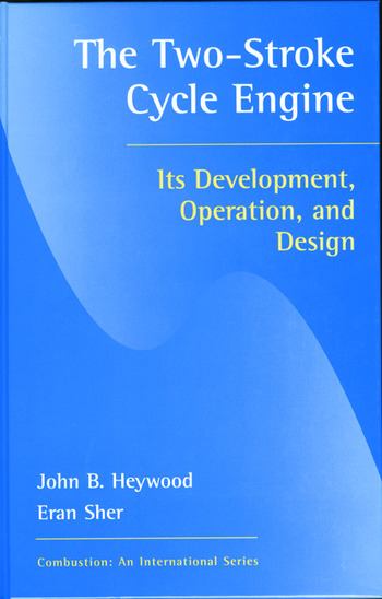 Two-Stroke Cycle Engine It's Development, Operation and Design book cover