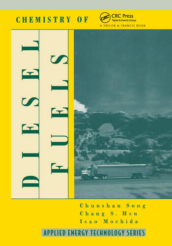 Chemistry of Diesel Fuels book cover