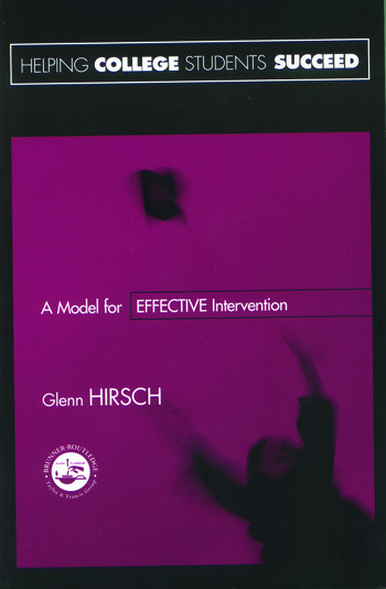 Helping College Students Succeed A Model for Effective Intervention book cover