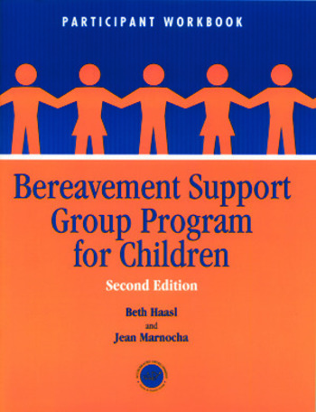Bereavement Support Group Program for Children Participant Workbook book cover