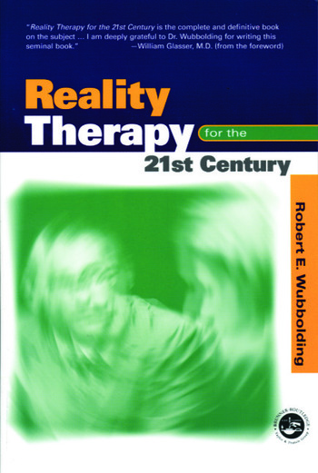 Reality Therapy For the 21st Century book cover