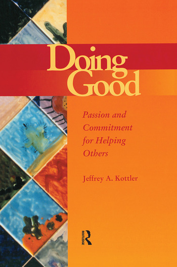 Doing Good Passion and Commitment for Helping Others book cover