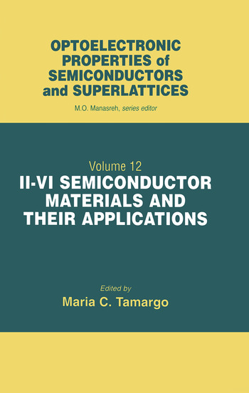 II-VI Semiconductor Materials and their Applications book cover