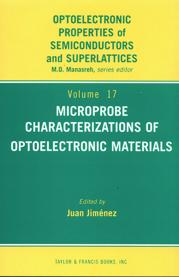 Microprobe Characterization of Optoelectronic Materials book cover