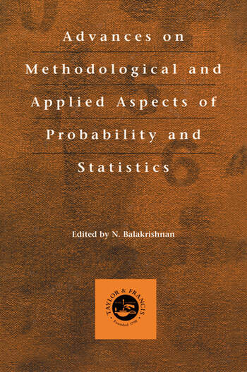 Advances on Methodological and Applied Aspects of Probability and Statistics book cover