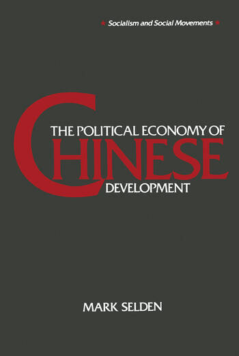 The Political Economy of Chinese Development book cover