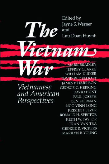 The Vietnam War: Vietnamese and American Perspectives Vietnamese and American Perspectives book cover