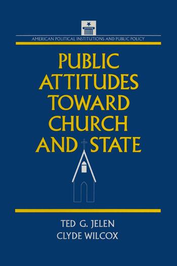 Public Attitudes Toward Church and State book cover