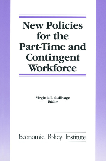 New Policies for the Part-time and Contingent Workforce book cover