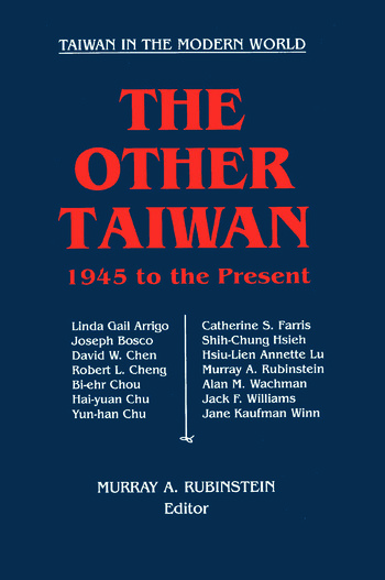The Other Taiwan, 1945-92 book cover