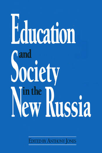 Education and Society in the New Russia book cover