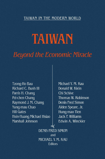 Taiwan: Beyond the Economic Miracle Beyond the Economic Miracle book cover