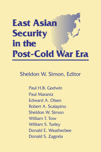 East Asian Security in the Post-Cold War Era book cover