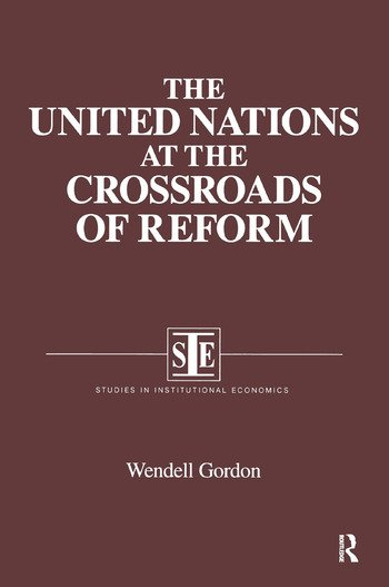 The United Nations at the Crossroads of Reform book cover
