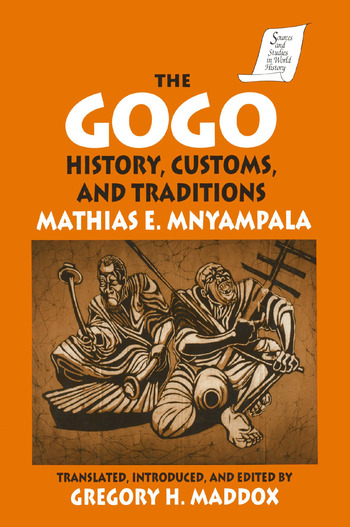 The Gogo History, Customs, and Traditions book cover