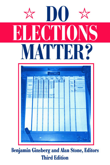 Do Elections Matter? book cover