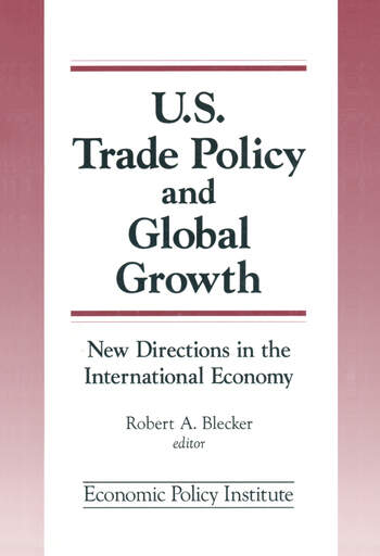 Trade Policy and Global Growth: New Directions in the International Economy New Directions in the International Economy book cover
