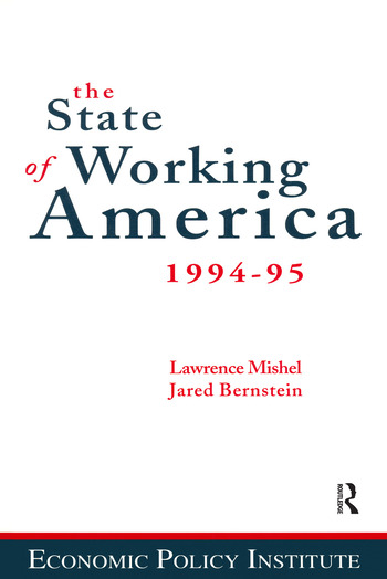 The State of Working America 1994-95 book cover