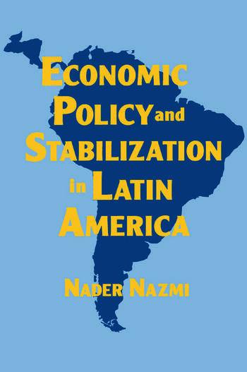 Economic Policy and Stabilization in Latin America book cover