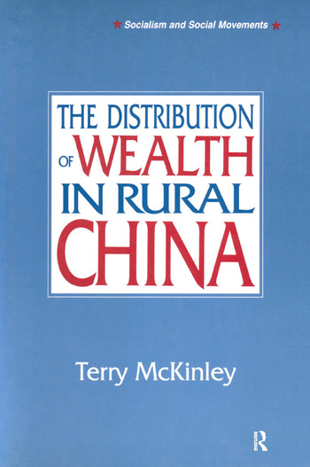 The Distribution of Wealth in Rural China book cover