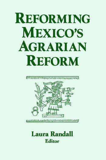 Reforming Mexico's Agrarian Reform book cover