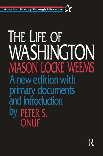The Life of Washington book cover