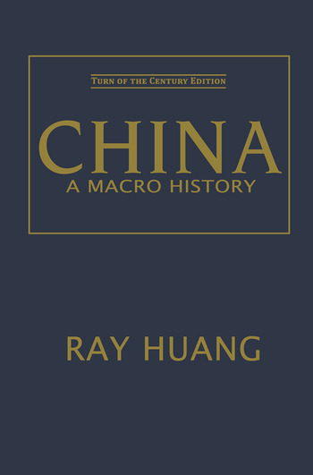 China A Macro History book cover