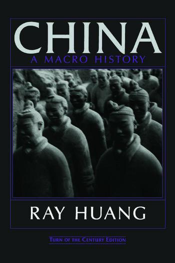 China A Macro History book cover