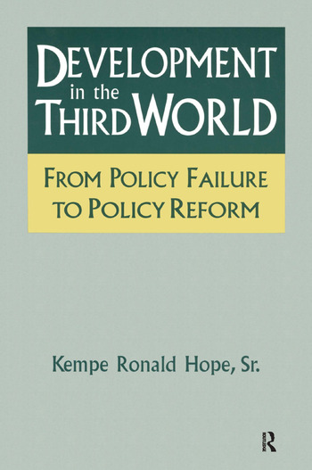 Development in the Third World: From Policy Failure to Policy Reform From Policy Failure to Policy Reform book cover
