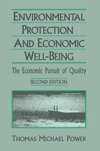 Economic Development and Environmental Protection: Economic Pursuit of Quality Economic Pursuit of Quality book cover