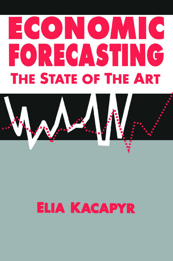Economic Forecasting: The State of the Art The State of the Art book cover