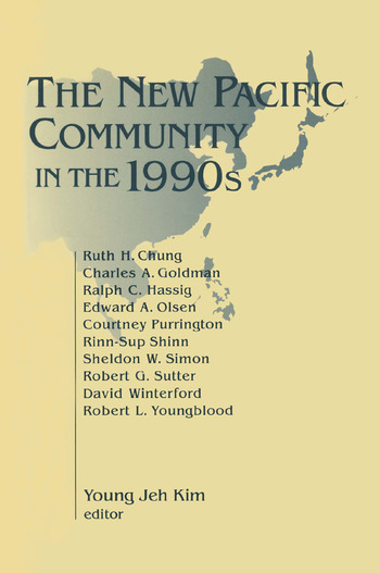 The New Pacific Community in the 1990s book cover