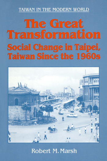 The Great Tranformation book cover