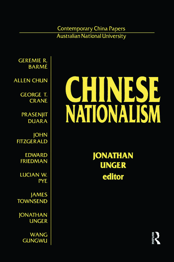 Chinese Nationalism book cover