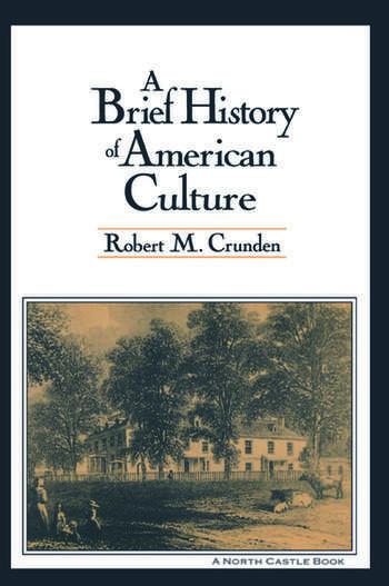 A Brief History of American Culture book cover