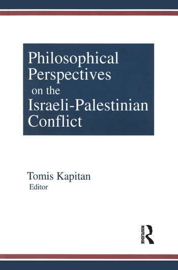 Philosophical Perspectives on the Israeli-Palestinian Conflict book cover