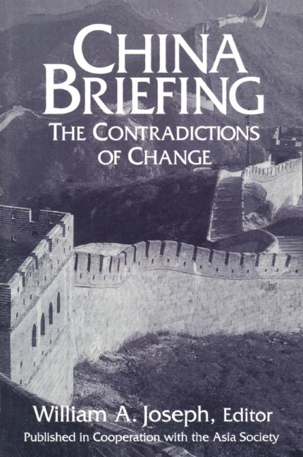 China Briefing The Contradictions of Change book cover
