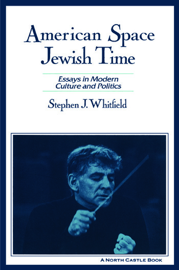 American Space, Jewish Time book cover