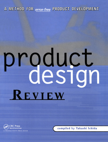 Product Design Review A Methodology for Error-Free Product Development book cover