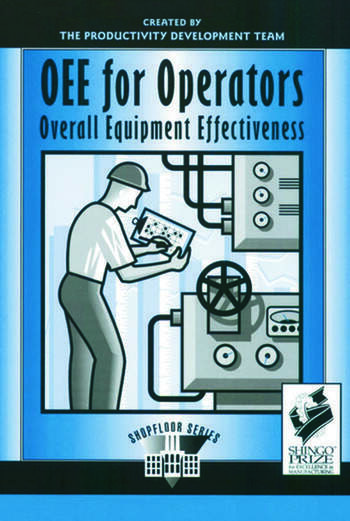 OEE for Operators Overall Equipment Effectiveness book cover