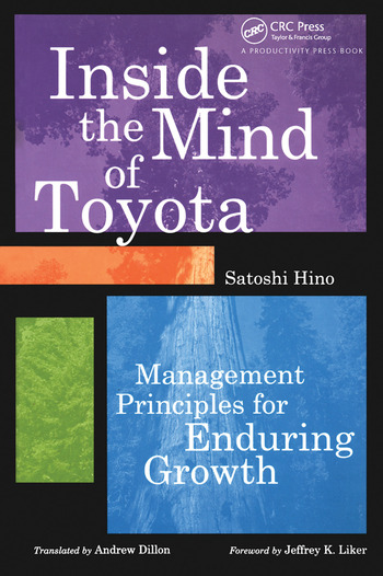 Inside the Mind of Toyota Management Principles for Enduring Growth book cover